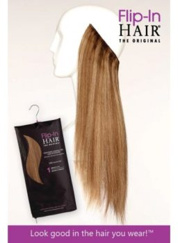 Flip-In Hair Lite - half the weight of Flip-In Hair The Original - designed for fine hair Flip-In Hair