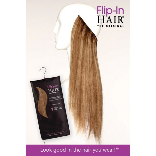 NEW PACKAGING COMING SOON Flip-In Hair
