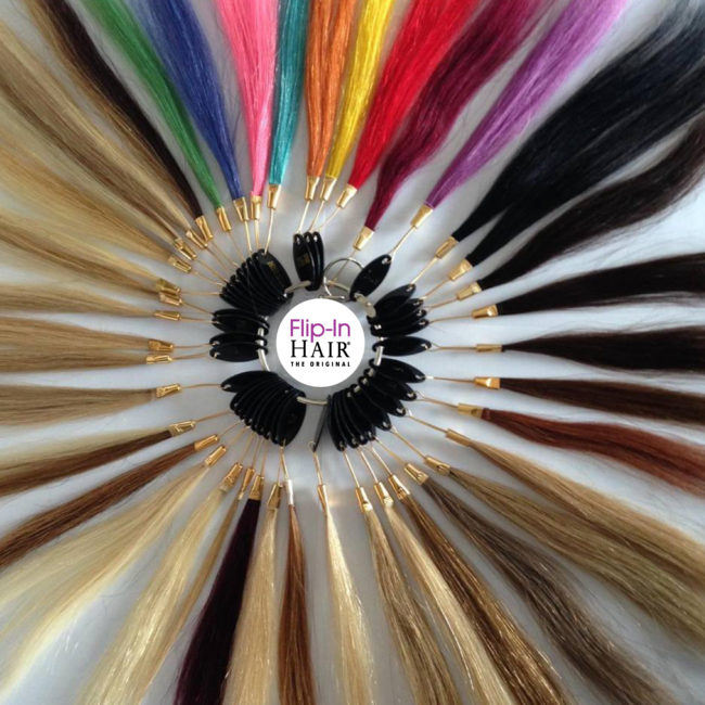 Colour Ring Flip-In Hair