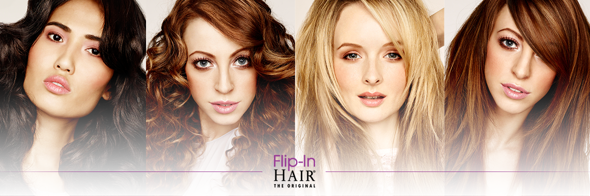 Flip-In Hair Wedding Hair Stockist