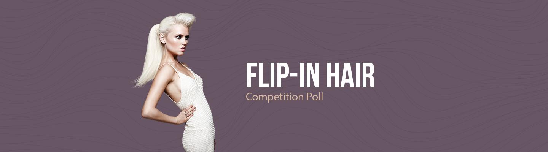 Poll Flip-In Hair